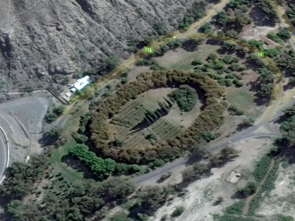 El jard n de los poetas ya es patrimonio provincial for Camping el jardin san juan