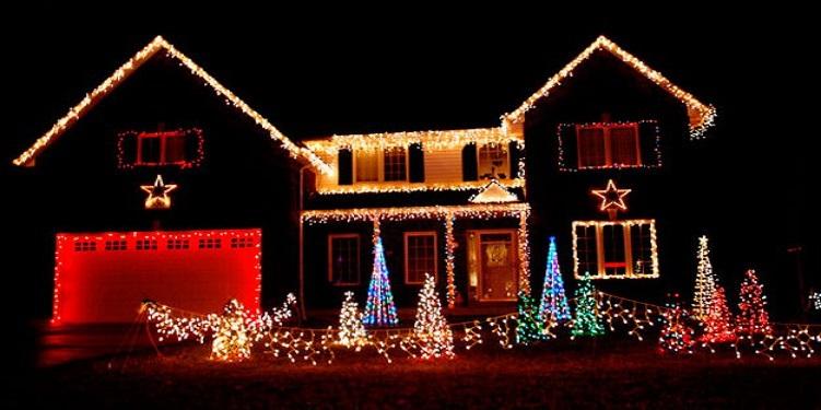 La casa mejor decorada en navidad no pagar impuestos - Casas decoradas en navidad ...