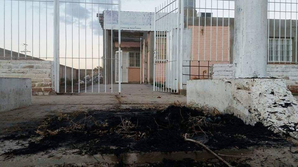 Atacaron y destruyeron un centro de salud en sarmiento - Centro de salud san juan ...