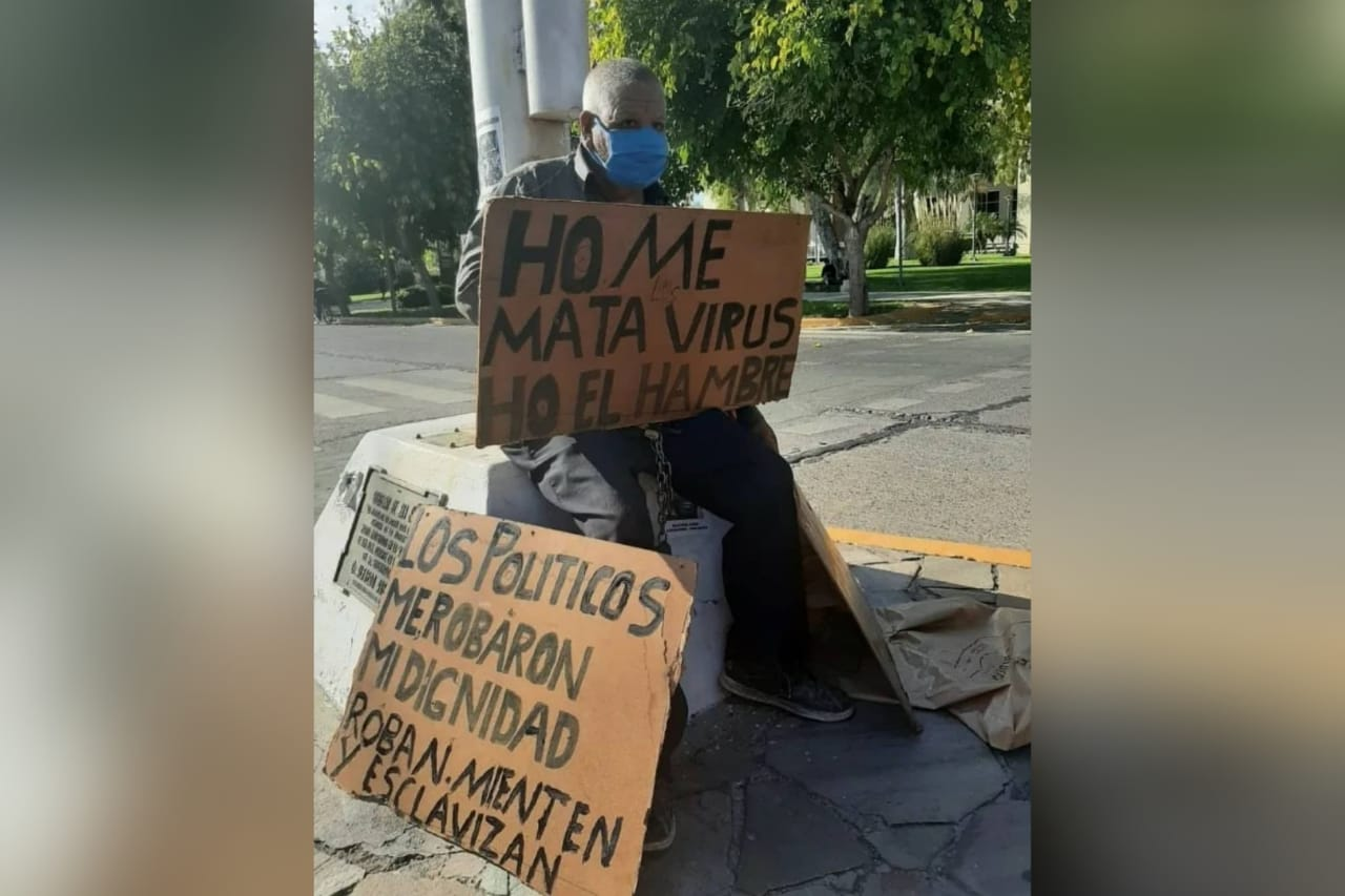 abuelo detenido por manifestarse3 - Diario Móvil - Noticias de San Juan Argentina